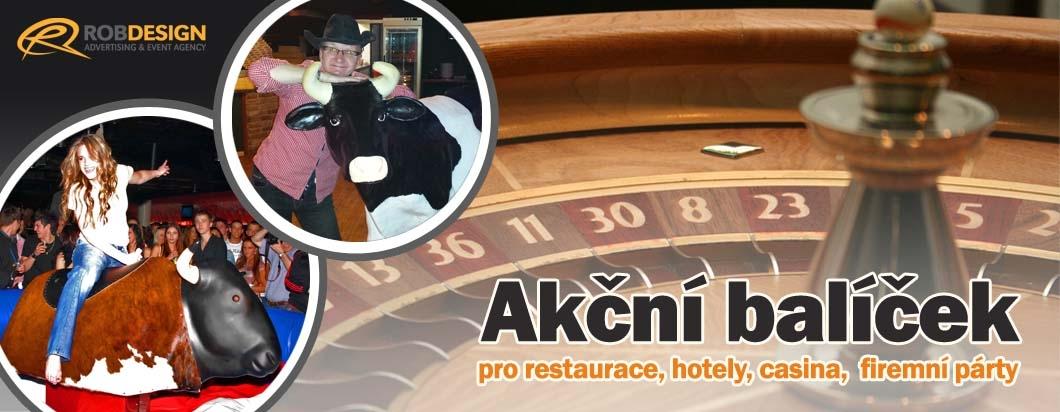 Doprovodný program pro restaurace, hotely, casina a firemní párty