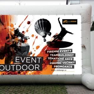 Nafukovací billboard