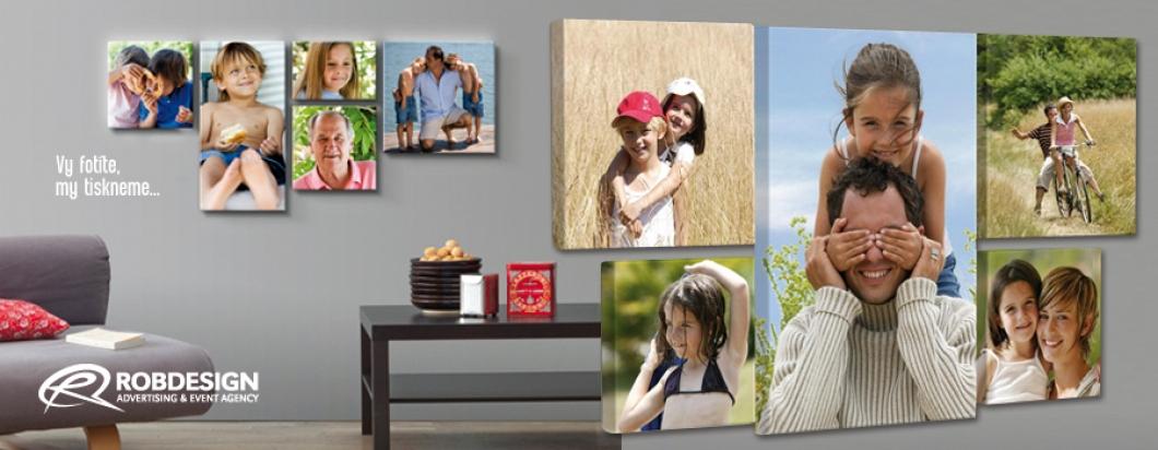 Vytvořte si vlastní obraz z Vašich fotografií